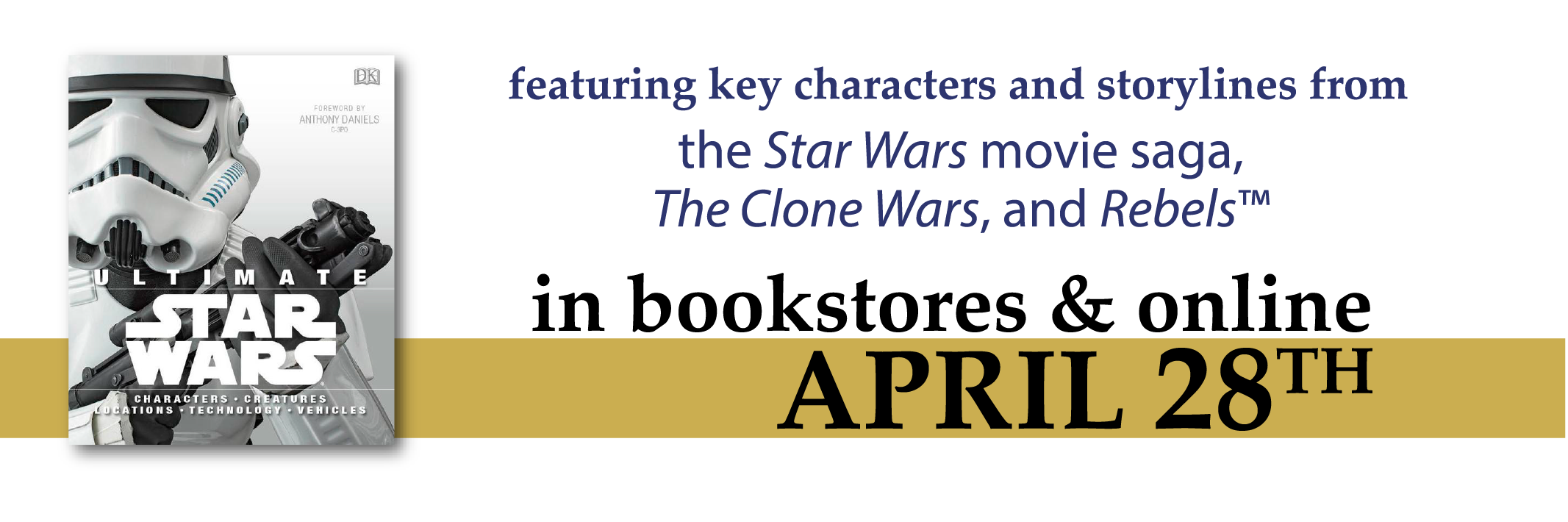 Ultimate Star Wars is available April 28th.