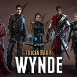 The cast of Wynde by Tricia Barr